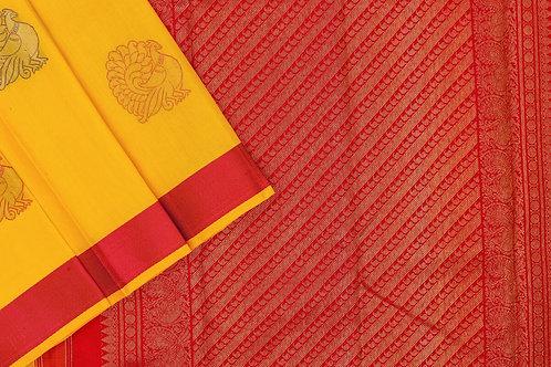 Kanjivaram silk saree SS2165