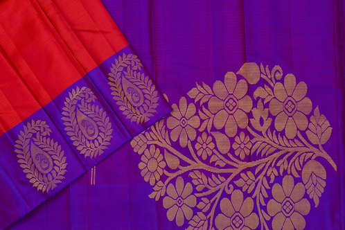 Amrith weaves creation soft silk saree PSAC090214