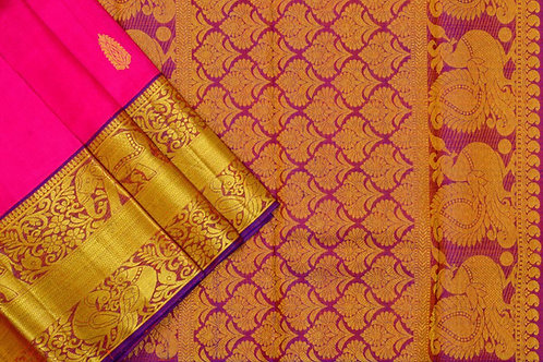 Kanjivaram silk saree SS1678
