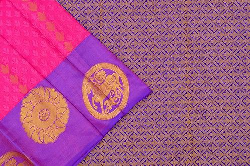 Amrith weaves creation soft silk saree PSAC090099