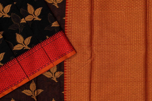 Blended cotton saree SS2179