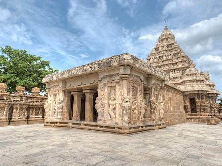 Temples and silk sarees