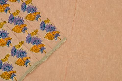 Coorv designs linen saree PSCO110009