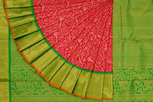 Bridal Kanjivaram silk saree SS1212