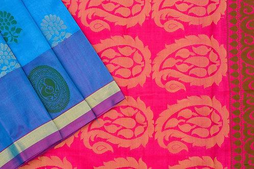 Amrith weaves creation soft silk saree PSAC090018