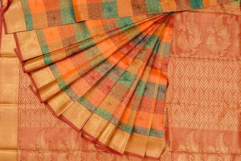 Bridal Kanjivaram silk saree SS932
