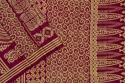 Weavers studio tussar silk saree PSWS140016