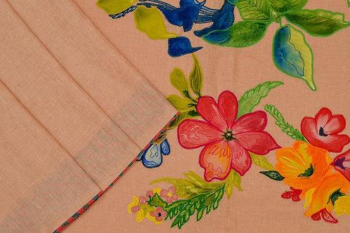Amritha linen saree PSAM160007