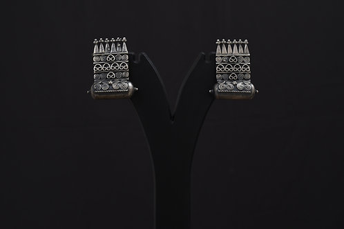 Alankrita Silver Earrings PSAL1008