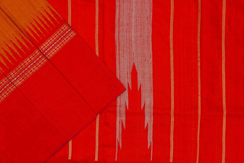 Sita mahalakshmi Raw silk saree PSSM05SMLBAL201103