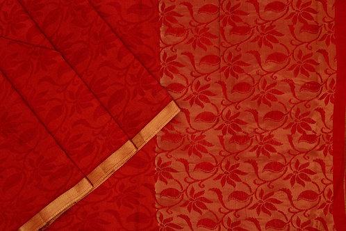 Amrith weaves creation dupion soft silk saree PSAC090230