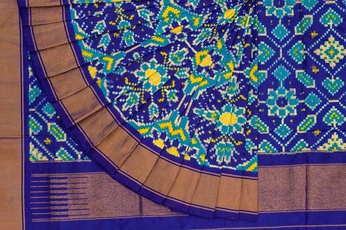 Indo fabric pochampalli silk saree PSIF060005