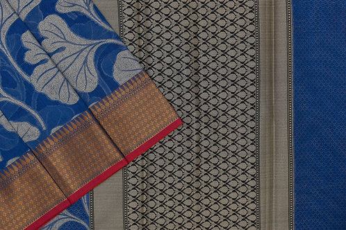 Blended cotton saree SS2143