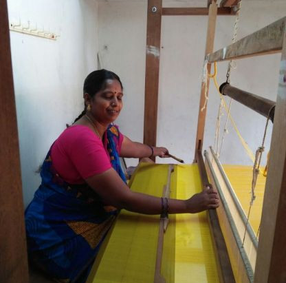 The Story Of Ananthanayaki - A Master Weaver