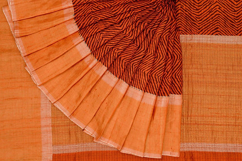 Shreenivas silks tussar silk saree PSSR011254
