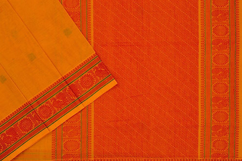 Shreenivas silks hand loom cotton saree PSSR011911