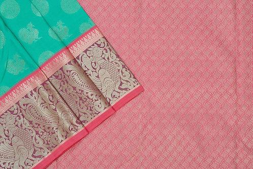 Sita mahalakshmi kanjivaram silk saree PSSM05LRAM2007A11