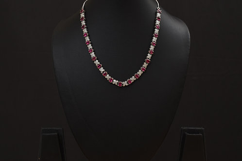 Lasya Necklace with Zircon stones LA0042