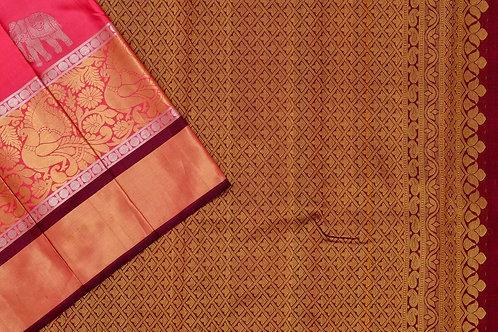 Sita mahalakshmi kanjivaram silk saree PSSM05SMLGAV190937
