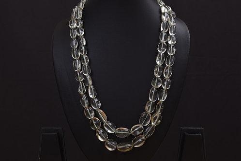 Lasya Necklace with amethist stones PSLA180034