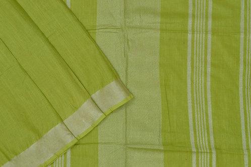 Coorv designs linen saree PSCO110044