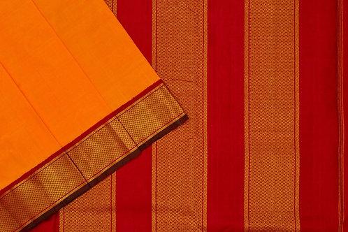 Nine yards silk saree SS1843