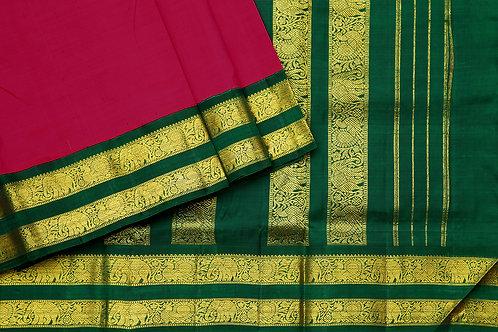 Tharakaram nine and a half yards silk saree PSTK040153