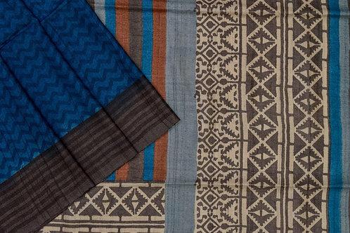 Weavers studio tussar silk saree PSWS140014