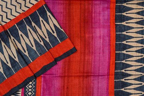 Weavers studio Tussar silk saree PSWS140003