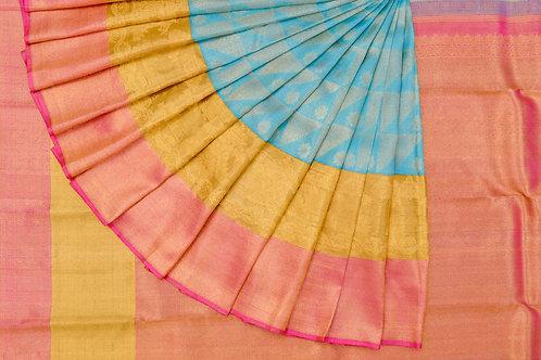 Bridal Kanjivaram silk saree SS935