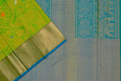 Bridal Kanjivaram silk saree SS1880