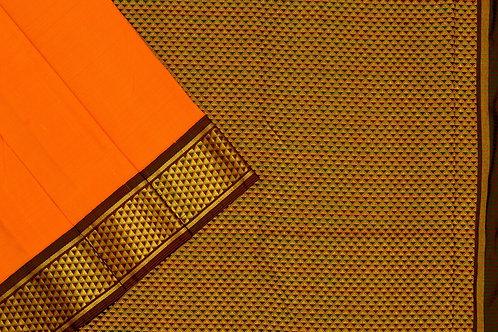 Nine yards silk saree SS1852