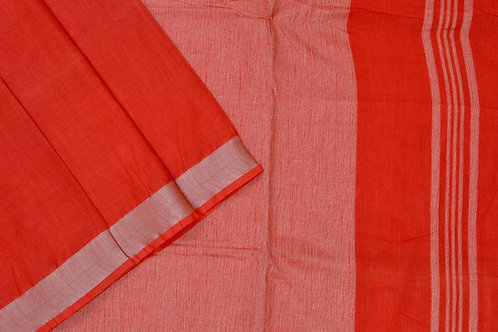 Coorv designs linen saree PSCO110061