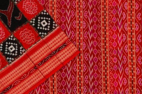 Ira Creations Sambalpuri Cotton Saree PSIC12IRA03