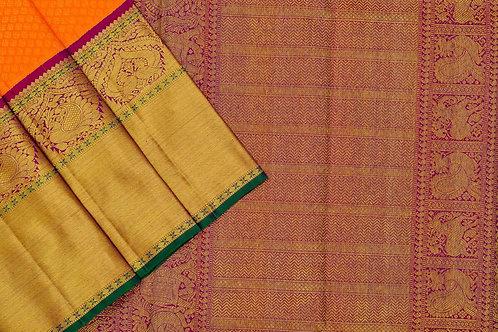 Sita mahalakshmi kanjivaram silk saree PSSM05LGAV200701