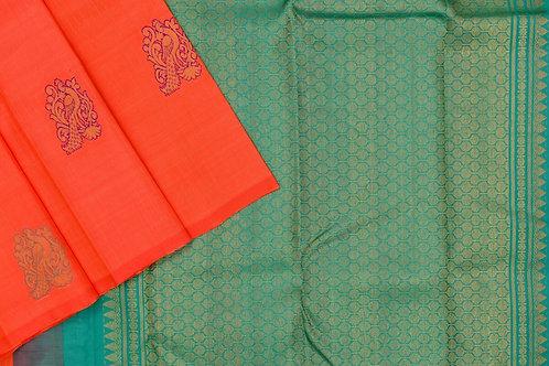Kanjivaram silk saree SS2127