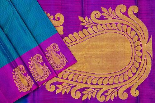 Amrith weaves creation soft silk saree PSAC090020
