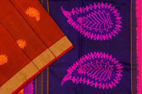 Mura Shibori silk saree PSMR170024