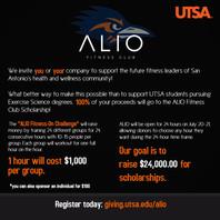 ALIO FITNESS-ON CHALLENGE 7/20-7/21