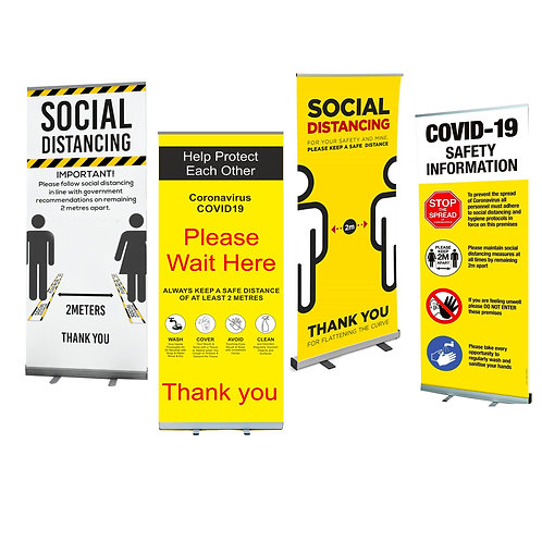 Roller Pull Up Banners