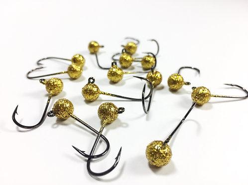 Gold Glitter - Ball Head Jig