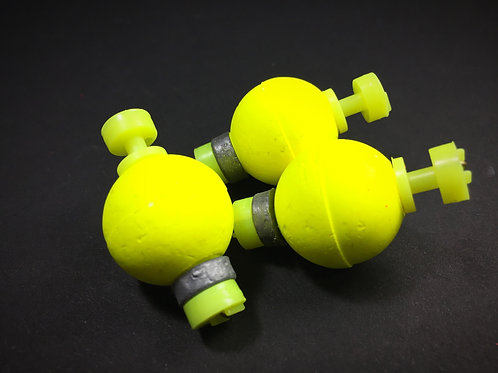 "3/4"" Weighted Float - Hi-Viz Yellow"
