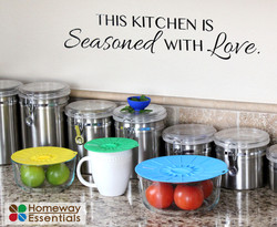 Is your Kitchen Seasoned with Love?