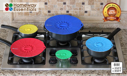 Silicone Lids for your Pots and Pans