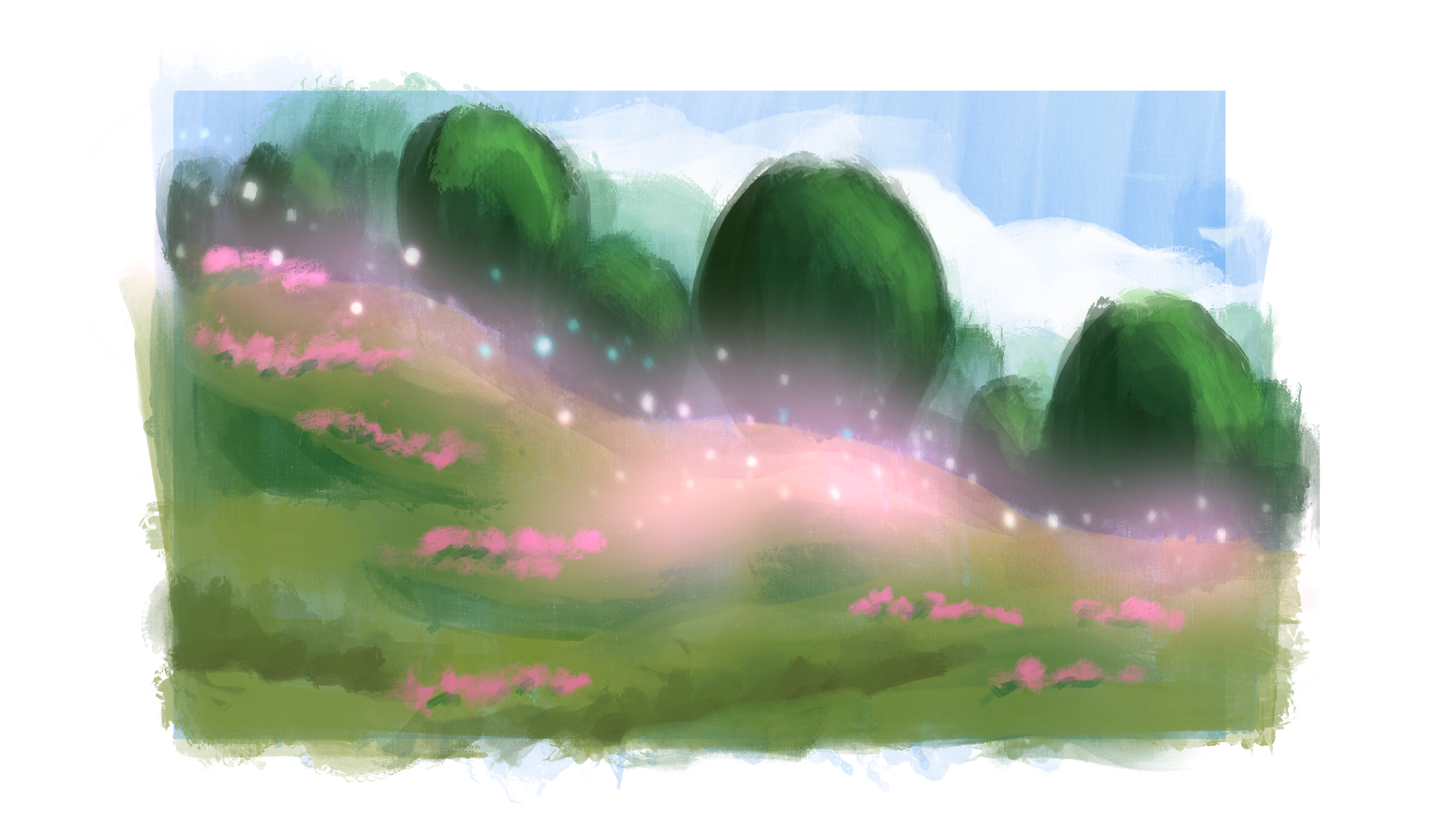 "Early Setting Exploration - ""Fairy Ring"" - digital"