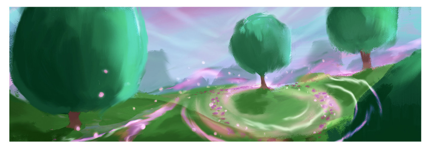 Early setting exploration/early color key