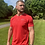 Thumbnail: ATMO Fusion Scarlet Red T-Shirt