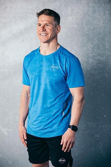 ATMO Fusion Azure Blue T-Shirt