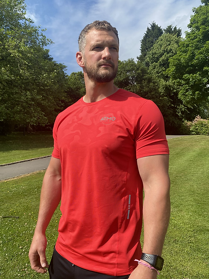 ATMO Fusion Scarlet Red T-Shirt