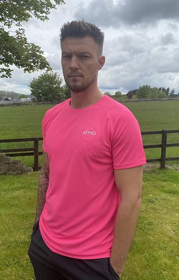 ATMO Evolve Fuscia Pink T-Shirt